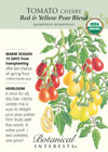 Tomato Cherry Red & Yellow Pear Blend Organic HEIRLOOM Seeds