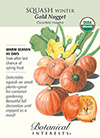 Squash Winter Gold Nugget Organic HEIRLOOM Seeds
