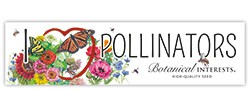 I Love Pollinators Bumper Sticker