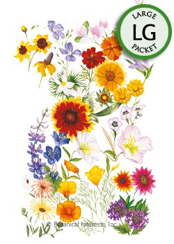 Flower Mix Water-Wise Mix Seeds (LG)